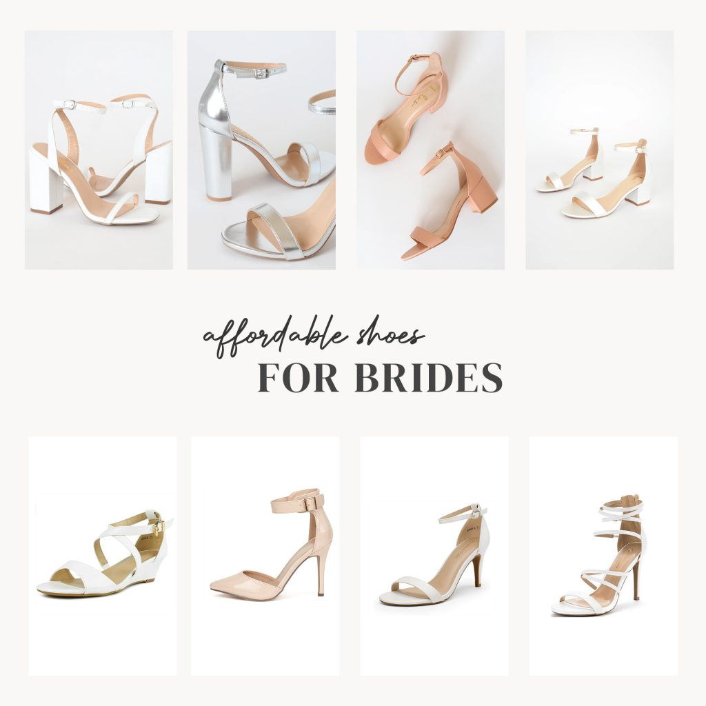 affordable shoes for brides